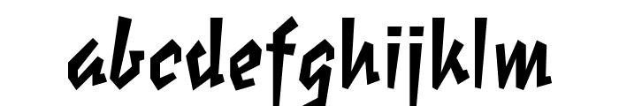 Elektrix OT Bold Font LOWERCASE
