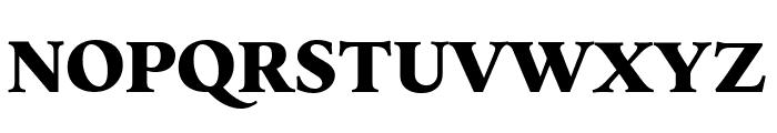 Elmhurst Black Font UPPERCASE