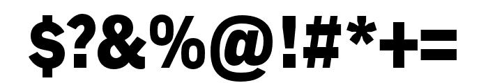 Embarcadero MVB Pro Black Condensed Font OTHER CHARS