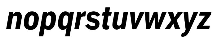 Embarcadero MVB Pro Extra Bold Condensed Italic Font LOWERCASE
