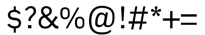Embarcadero MVB Pro Regular Font OTHER CHARS
