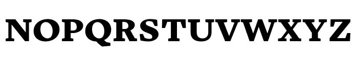 Embury Text Black Font UPPERCASE