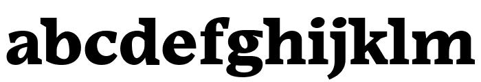 Embury Text Black Font LOWERCASE
