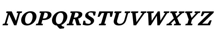 Embury Text Bold Italic Font UPPERCASE