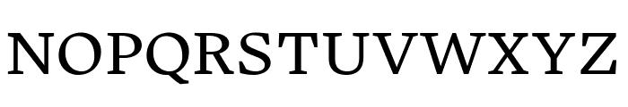 Embury Text Book Font UPPERCASE