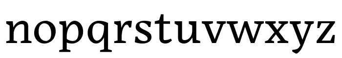 Embury Text Book Font LOWERCASE