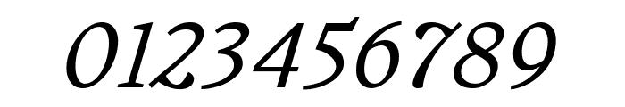 Embury Text Light Italic Font OTHER CHARS