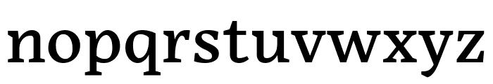 Embury Text Regular Font LOWERCASE