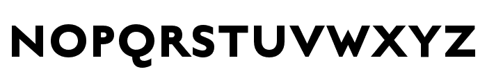 English Grotesque Bold Font UPPERCASE