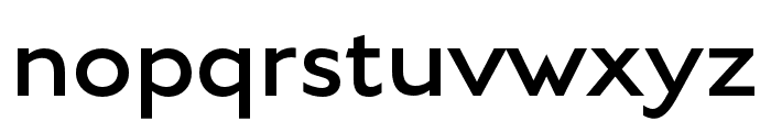 English Grotesque Light Font LOWERCASE