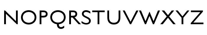 English Grotesque Thin Font UPPERCASE