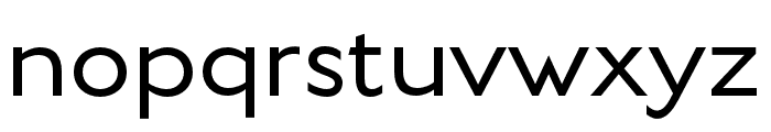 English Grotesque Thin Font LOWERCASE