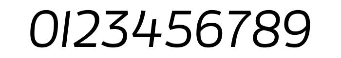 Enzo OT Medium Italic Font OTHER CHARS
