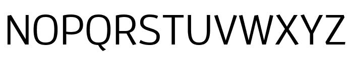 Enzo OT Medium Font UPPERCASE