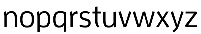Enzo OT Medium Font LOWERCASE