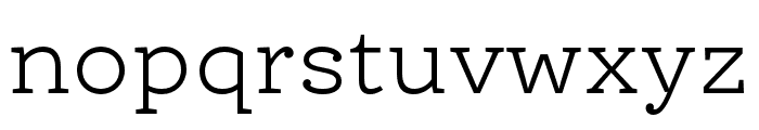 Ernestine Pro Light Italic Font LOWERCASE