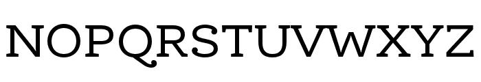 Ernestine Pro Regular Font UPPERCASE