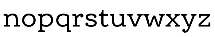 Ernestine Pro Regular Font LOWERCASE