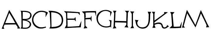 Escoffier Capitaux Regular Font UPPERCASE