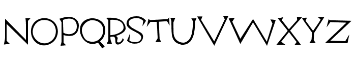 Escoffier Capitaux Regular Font LOWERCASE