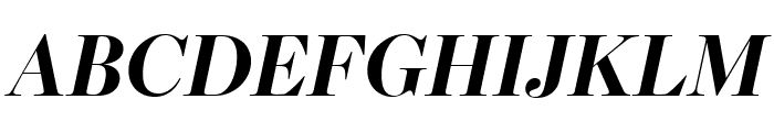 Escrow Banner Bold Italic Font UPPERCASE