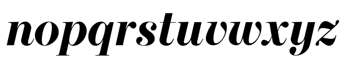 Escrow Banner Bold Italic Font LOWERCASE