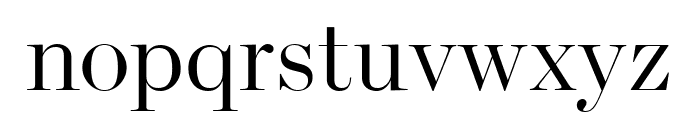 Escrow Banner Condensed Light Font LOWERCASE