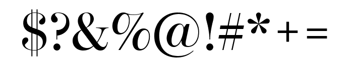 Escrow Banner Condensed Roman Font OTHER CHARS