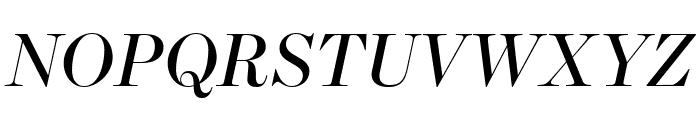 Escrow Banner Italic Font UPPERCASE