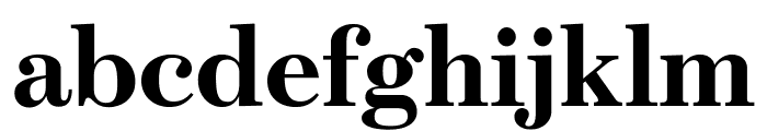 Escrow Bold Font LOWERCASE