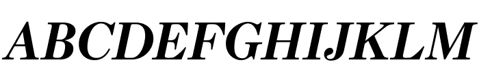 Escrow Condensed Bold Italic Font UPPERCASE