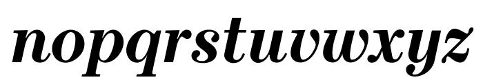Escrow Condensed Bold Italic Font LOWERCASE