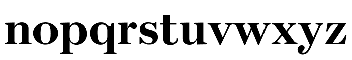 Escrow Condensed Bold Font LOWERCASE