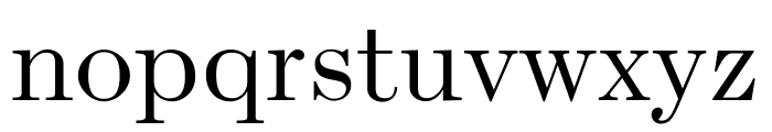 Escrow Condensed Light Font LOWERCASE