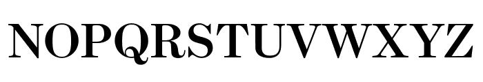 Escrow Condensed Semi Bold Font UPPERCASE