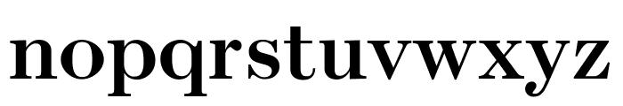 Escrow Condensed Semi Bold Font LOWERCASE