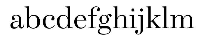 Escrow Light Font LOWERCASE