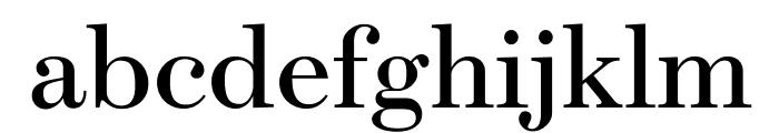 Escrow Roman Font LOWERCASE