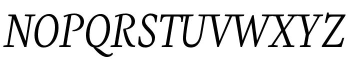 Eskapade Italic Font UPPERCASE