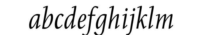 Eskapade Italic Font LOWERCASE