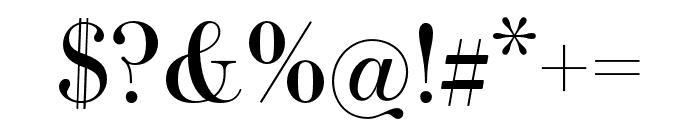 Essonnes Text Regular Font OTHER CHARS