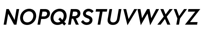 Europa Bold BoldItalic Font UPPERCASE