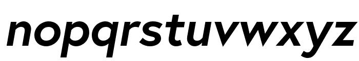Europa Bold BoldItalic Font LOWERCASE