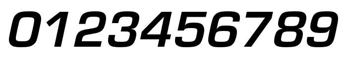 Eurostile Bold Oblique Font OTHER CHARS