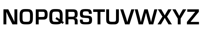Eurostile Bold Font UPPERCASE