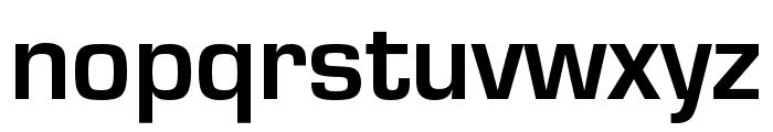 Eurostile Bold Font LOWERCASE