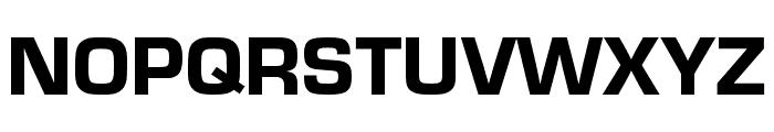 Eurostile Cond Heavy Font UPPERCASE