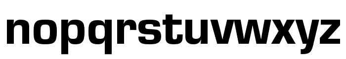 Eurostile Cond Heavy Font LOWERCASE