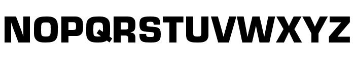 Eurostile Extd Black Font UPPERCASE