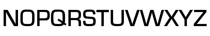 Eurostile Extd Medium Font UPPERCASE